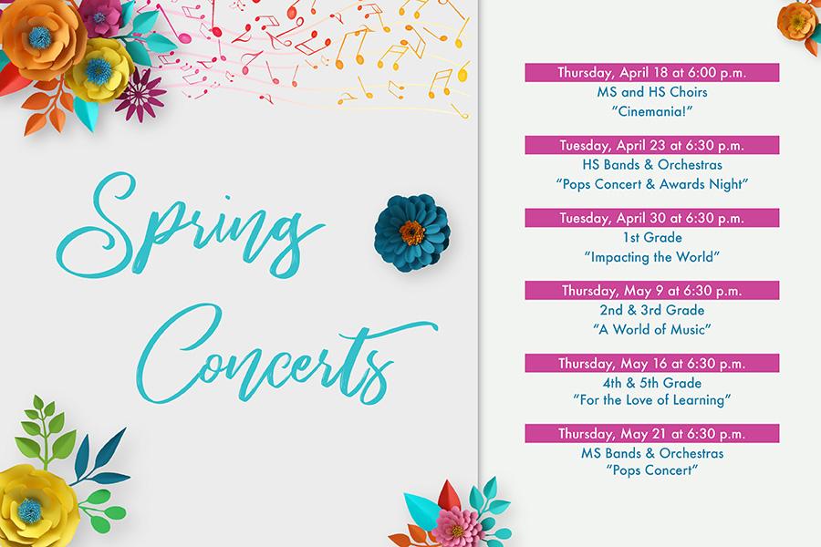 Spring Concerts 2019