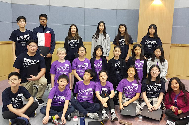 KIMEA MS Honor Choir