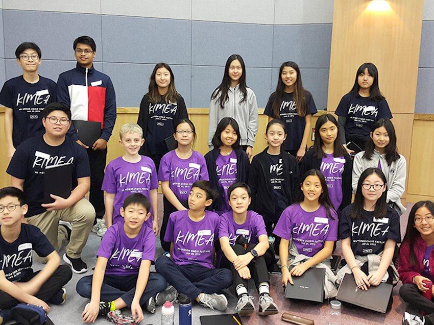 KIMEA MS Honor Choir