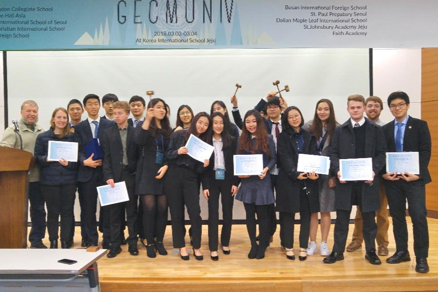 Jeju MUN group