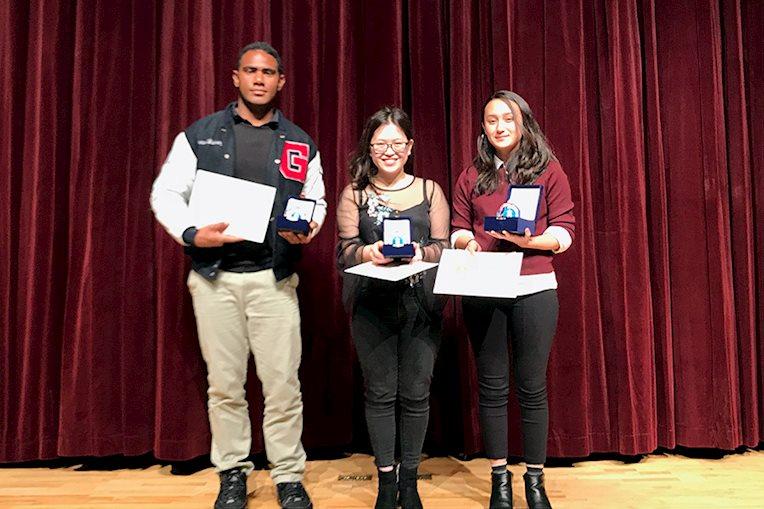 Poetry Slam Winners
