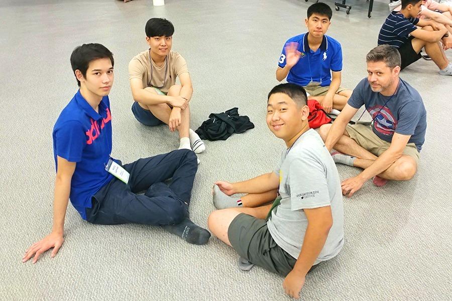 Senior Retreat Small Group