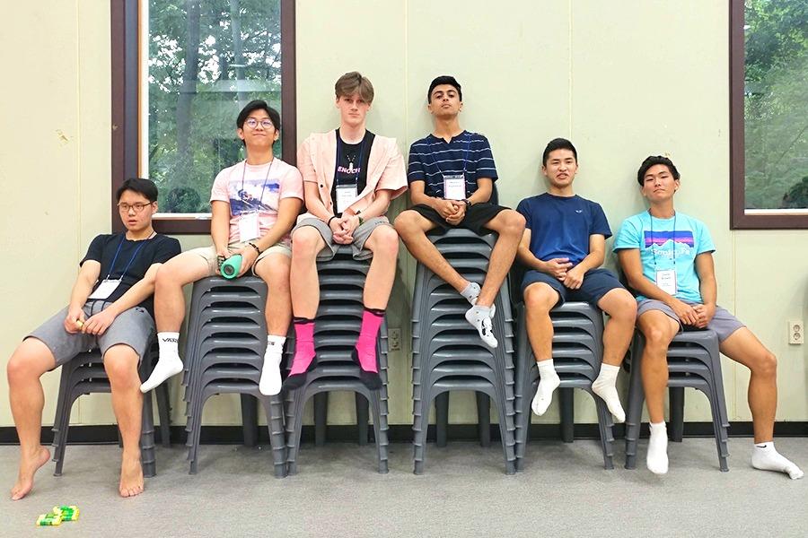 Senior Retreat Boys