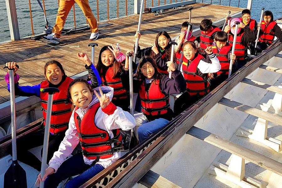 7th Grade WWW Dragon Boat