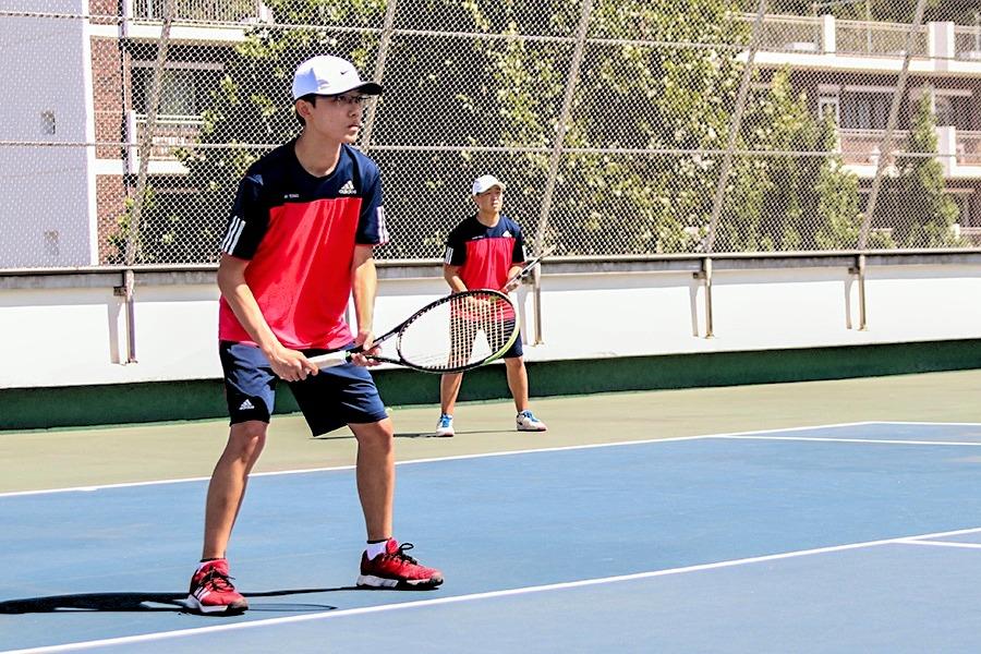 Varsity Boys Tennis Doubles