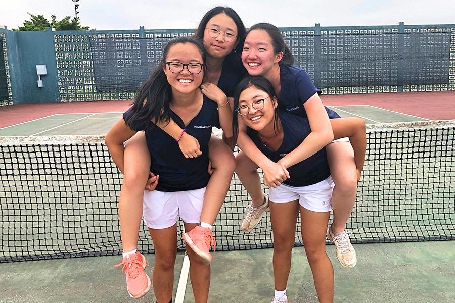 Far East Girls Tennis