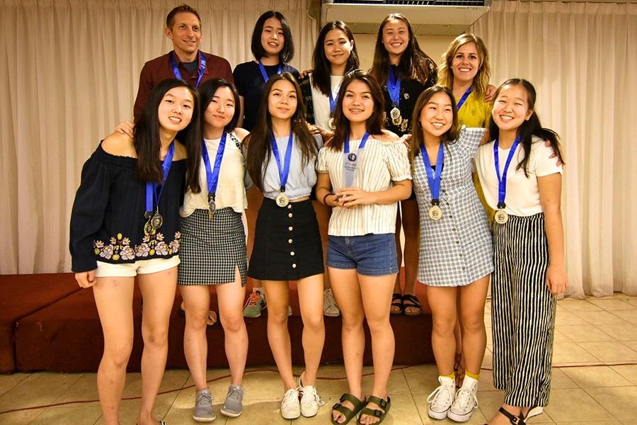Girls Volleyball ASCS Winners