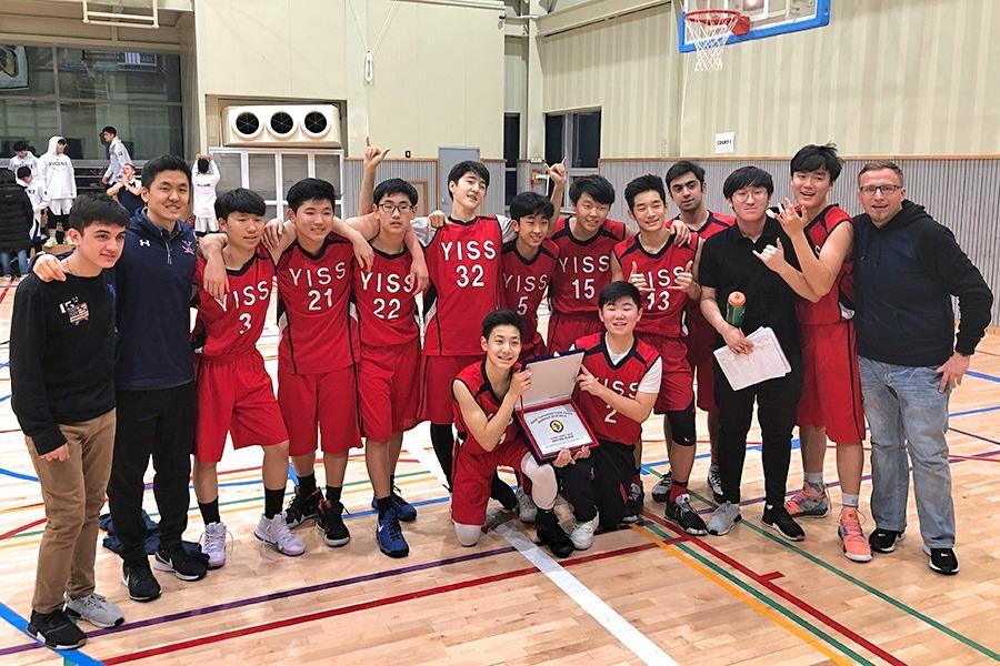 JV Boys Basketball KAIAC