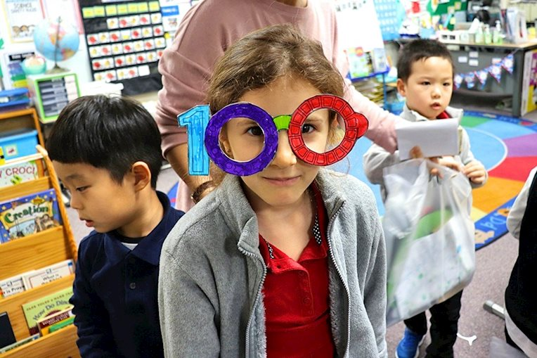 Kindergarten 100th Day
