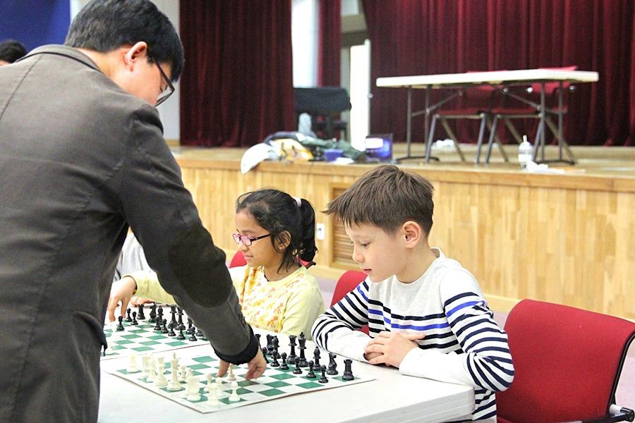 Chess vs. Mr. Song