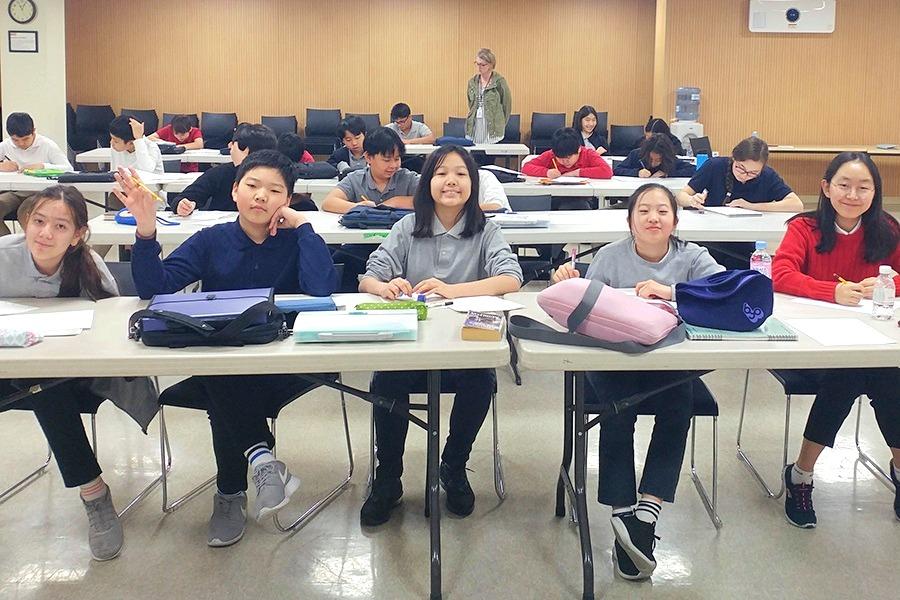 Yangsook Choi Middle School Workshop