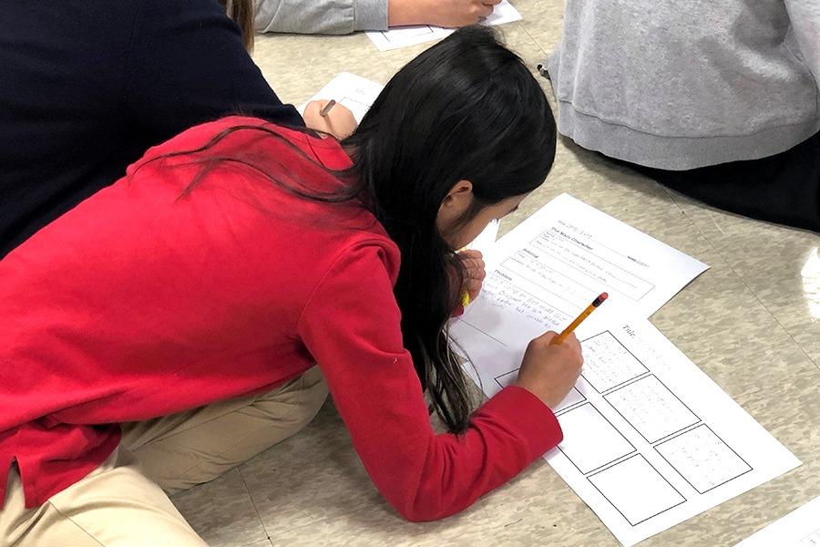 Yangsook Choi Elementary Workshop