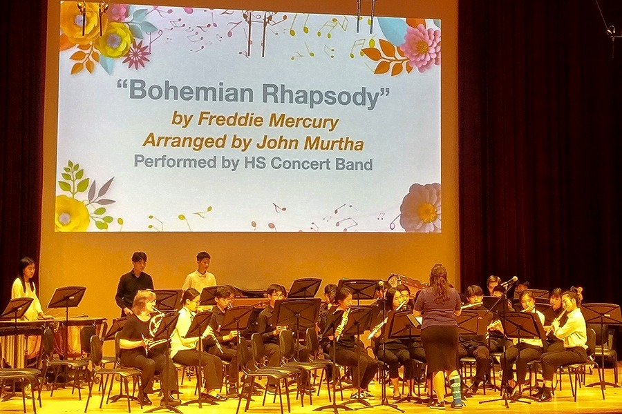 High School Orchestras and Bands Give Stellar Pops Concert | Yongsan