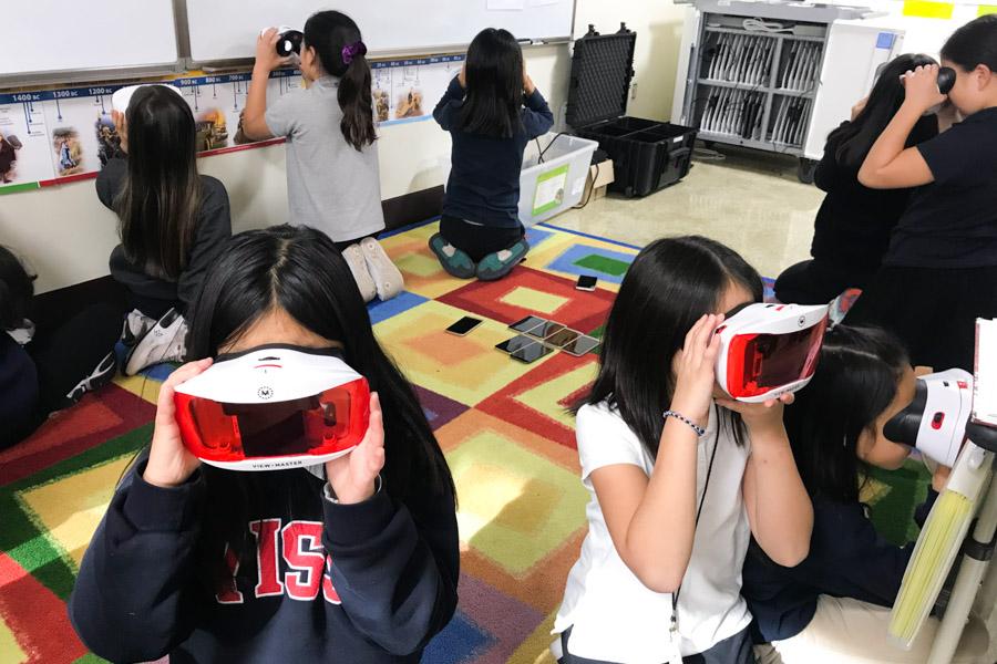 5th Grade Virtual Reality