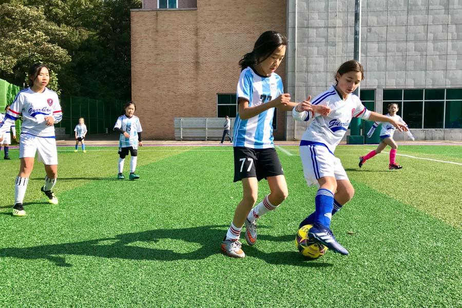 ES Girls Soccer