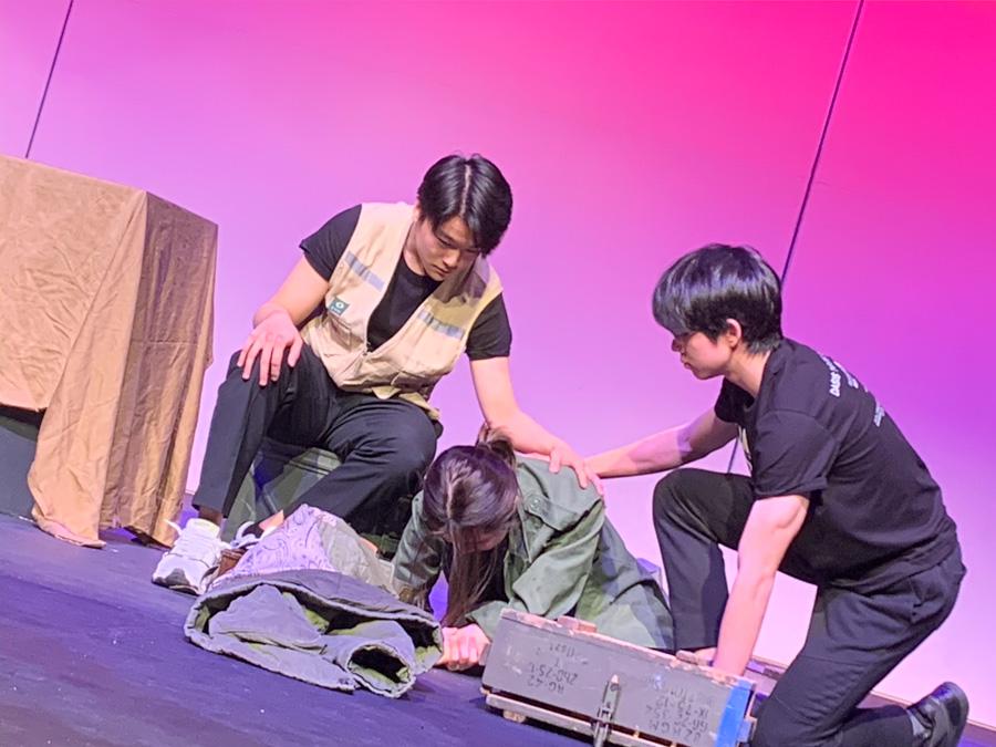 Students performing at DASIS